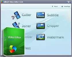 ویرایش فایل های ویدیویی + پرتابل، GiliSoft Video Editor 4.2.0