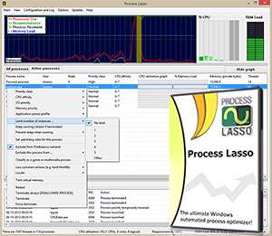 افزایش سرعت رایانه، Process Lasso Pro 6.6.0.30 Final