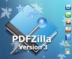 تبدیل فایل های PDF به فرمت های دیگر، PDFZilla 3.0.2