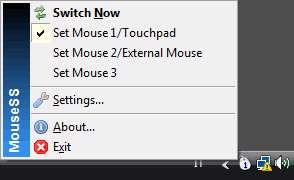 تغییر و تنظیم سرعت ماوس، Mouse Speed Switcher 3.3.0