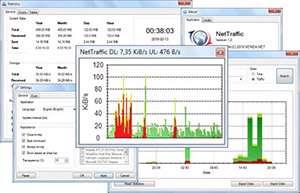 نمایش و مدیریت ترافیک مصرفی اینترنت، NetTraffic 1.27.4