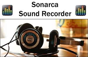 ضبط صدا و صوت، Sonarca Sound Recorder Free 3.8.3