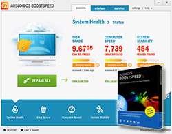 افزایش واقعی سرعت سیستم + پرتابل، AusLogics BoostSpeed 6.1.0.0