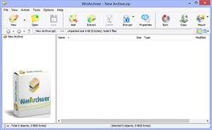 دانلود WinArchiver 3.7 ساخت و مدیریت قدرتمند فایل های فشرده