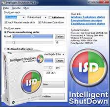 خاموش کردن رایانه به صورت اتوماتیک، Intelligent Shutdown 3.2.1