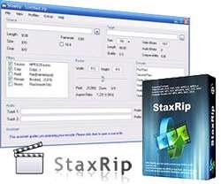 دانلود StaxRip 1.2.1.0 Final کم کردن حجم فیلم با کیفیت خوب