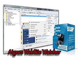 اطلاع از سایت های بروز شده، Aignes WebSite Watcher 2014 v14.2 Final