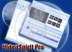 ویرایش سریع فایل های ویدیویی، VideoSpirit Pro 1.88