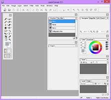 ابزار سبک طراحی و ویرایش تصویر، OpenCanvas 6.2.00