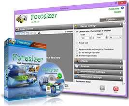 تغییر اندازه تصاویر با کمترین افت کیفیت + پرتابل، FotoSizer 2.05.0.536 Final