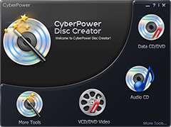 ابزار رایت لوح های فشرده + پرتابل، CyberPower Disc Creator 4.2.5