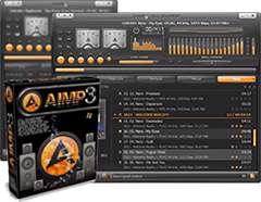 پلیر قدرتمند فایل های صوتی، AIMP 3.55 Build 1338 Final