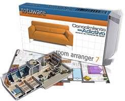 طراحی حرفه ای دکوراسیون منزل، Room Arranger 7.5.0.421