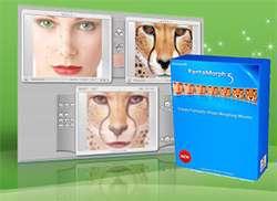 مونتاژ تصاویر به صورت متحرک، Abrosoft FantaMorph Deluxe 5.4.3