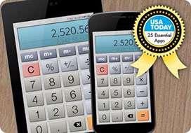 ماشین حساب اندرویدی، Calculator Plus Free 4.5
