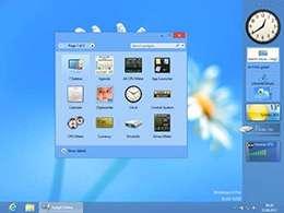 گجت های کاربردی برای ویندوز 8، 8GadgetPack 7.0