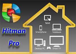 حذف قدرتمند بدافزارهای جاسوسی و مخرب، Hitman Pro 3.7.7 Build 202