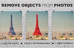 حذف و جداسازی قدرتمند اجسام در تصاویر + پرتابل، Teorex Inpaint 5.4