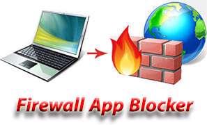 افزودن سریع و آسان برنامه ها به فایروال ویندوز، Firewall App Blocker 1.4