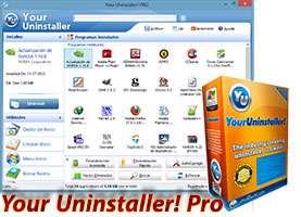 حذف نرم افزار نصب شده + پرتابل، Your Uninstaller! Pro 7.5.2013.02