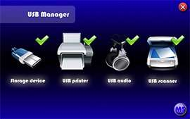 مدیریت حرفه ای پورت های یو اس بی، USB Manager 2.0 Final