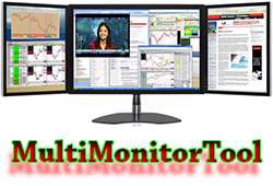 کنترل و مدیریت مانیتورها در ویندوز، MultiMonitorTool 1.40