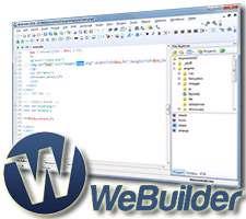 ویرایشگر کد برای توسعه دهندگان وب، Blumentals WeBuilder 2014 12.2.0.150