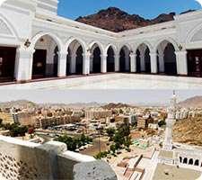 سفر مجازی با تصاویر 360 درجه به بیرون مسجد فتح از مساجد هفتگانه