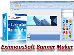 ایجاد و ساخت بنر تبلیغاتی + پرتابل، EximiousSoft Banner Maker 5.20