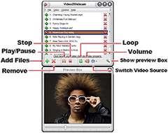 ایجاد وب کم مجازی، Video2Webcam 3.4.2.6
