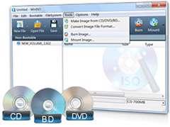 مدیریت و رایت فایل های ایمیج + پرتابل، WinISO Standard 6.3.0.4969