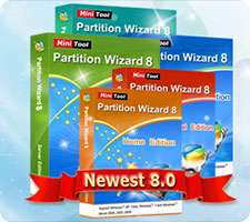 مدیریت پارتیشن های ویندوز، MiniTool Partition Wizard Professional 8.1
