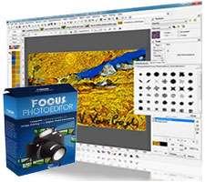 ویرایش و رتوش حرفه ای تصاویر، Focus Photoeditor 6.5.7.0