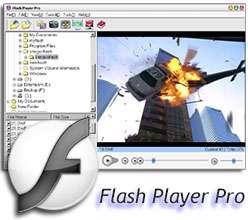 اجرا و مدیریت فایل های فلش + پرتابل، Flash Player Pro 5.9