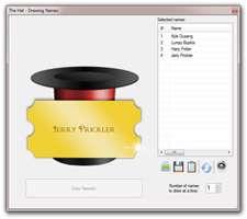 ابزار رایگان قرعه کشی، The Hat 3.1.0.5