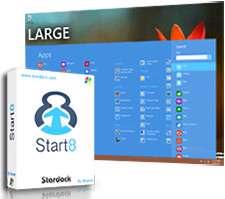 بازگشت منوی Start به ویندوز 8، Stardock Start8 1.20 Final