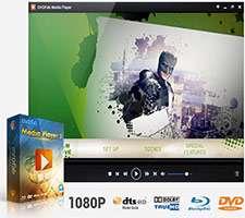 پخش حرفه ای فایل های ویدیویی، DVDFab Media Player 3.0.0.1