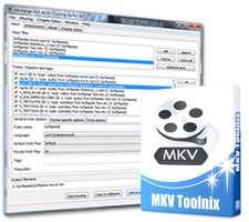 ترکیب سریع زیرنوس، صوت و فیلم با یکدیگر، MKVToolnix 6.9.1