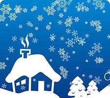 براش برف، سرما و کاج، درخت، سری چهارم