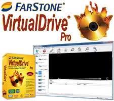 ساخت درایو مجازی لوح فشرده، FarStone VirtualDrive Pro 15.02