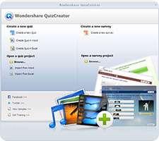 طراحی و ساخت آزمون های آنلاین، Wondershare QuizCreator 4.5.1