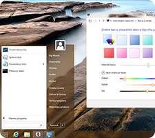 فعال کردن شفافیت پنجره ها در ویندوز 8، Aero Glass for Windows 8 v1.3