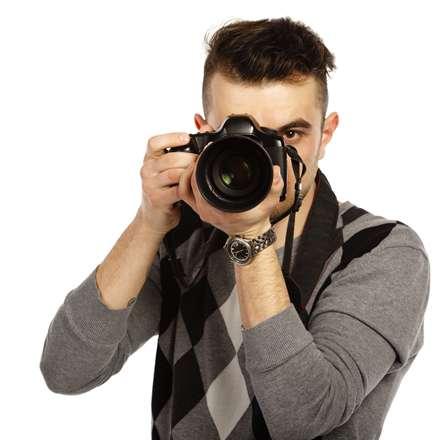 مرد عکاس