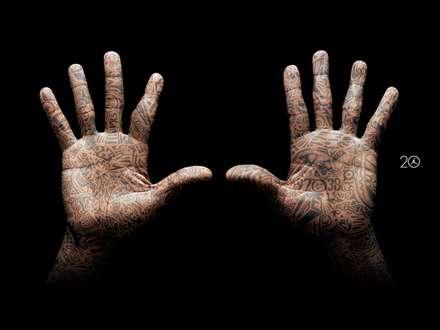 دستان مایکل جوردن
