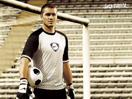 فوتبالییست هنگام تمرین