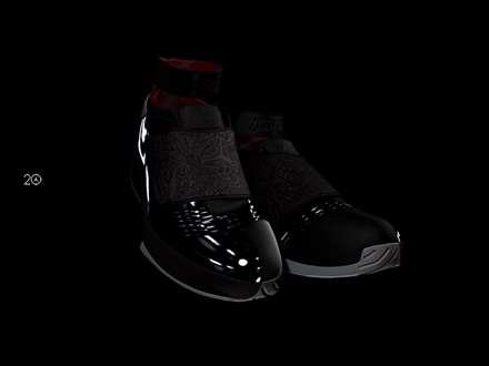 کفش های بسکتبال مشکی