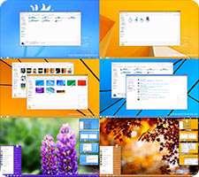 تم ویندوز 8.1 برای ویندوز XP و 7، Windows 8.1 SkinPack 1.0