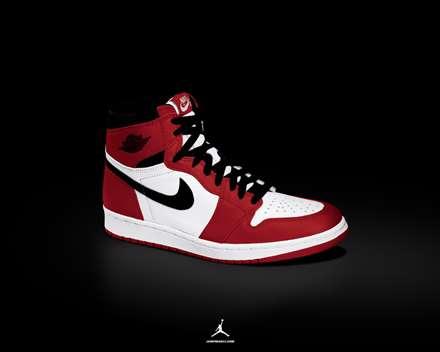 کفش بسکتبال سفید و قرمز