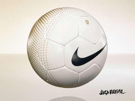 توپ فوتبال  سفید نایکی