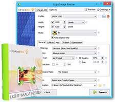 تغییر اندازه تصاویر + پرتابل، Light Image Resizer 4.6.4.0